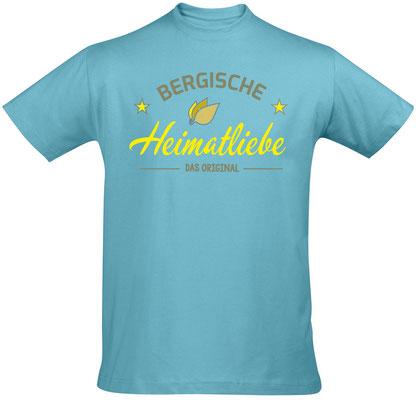 T-Shirt Bergische Heimatliebe Atoll Blue
