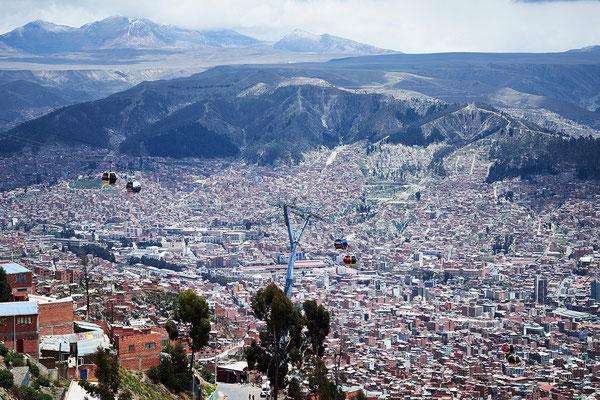 La Paz, Bolivia, Linea Amarilla - Foto Doppelmayr