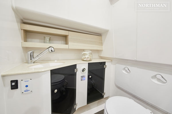 Nexus 870 Revo Intérieur Toilettes