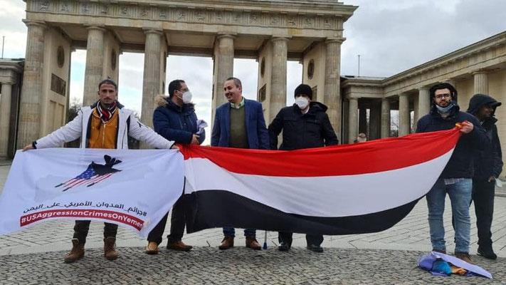 27.03.2021 - Berlin: 6 Jahre Krieg gegen den Jemen sind genug!