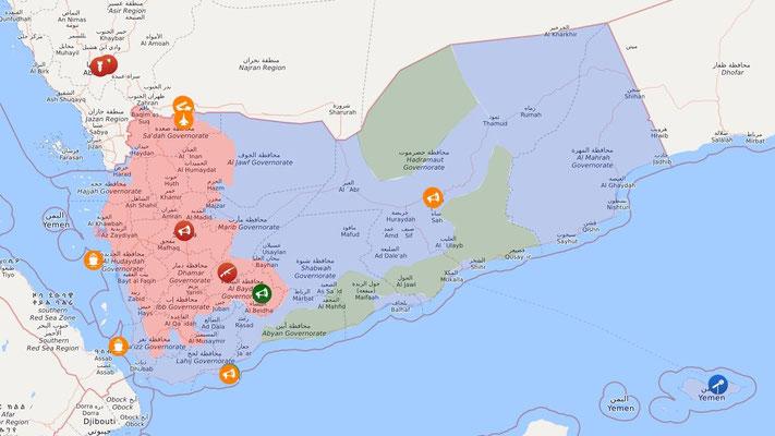 Livemap: Krieg im Jemen 01.09.2020