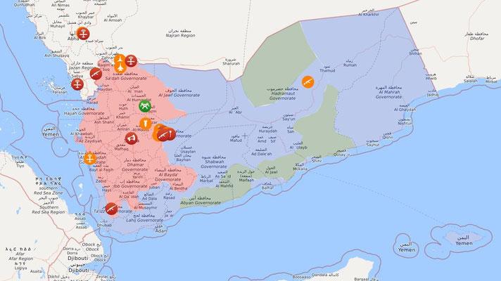 Krieg im Jemen - Stand 01.04.2021