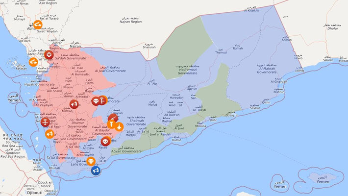 Jemen-Live-Map 31.07.2021