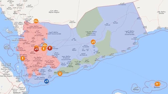 Livemap: Krieg im Jemen 30.09.2020