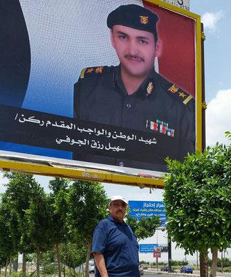 Suhail AlJawfi, ein Held im Jemen, der für seine Heimat gestorben ist.