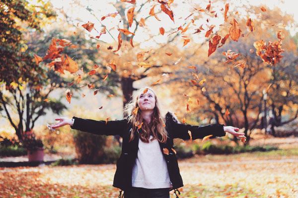 Ich liebe die Farben im Herbst