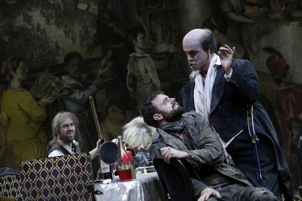 Oper Köln, Falstaff (Pistola), Foto: P. Leclaire