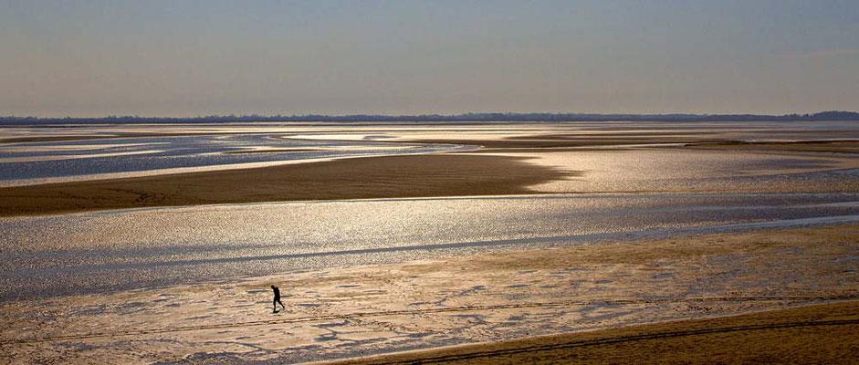 Seul à marée basse - Philippe Vaudois
