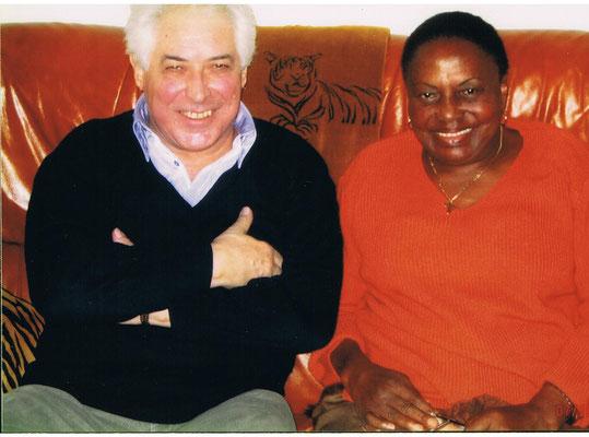 avec Miriam Makeba