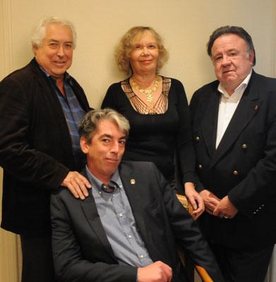 Avec Brieg Haslé-Le Gall, Josseline Kerbonne & Jacques Kérampran © Jacques Bocoyran