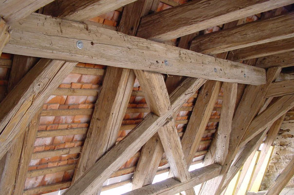 Ertüchtigung der alten Konstruktion