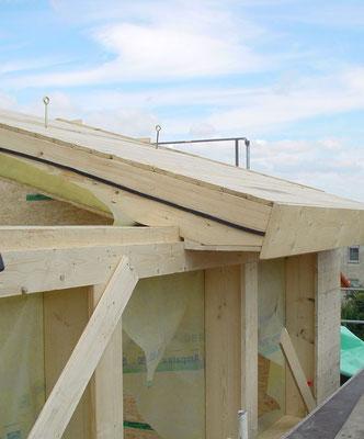 Montage Dacheinbauten