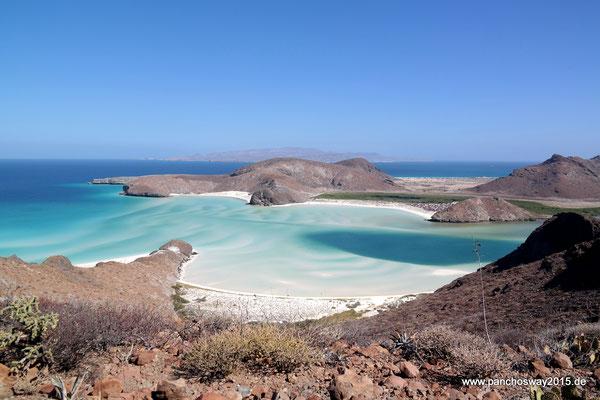 Mexiko_Baja California_La Paz_Playa Balandra