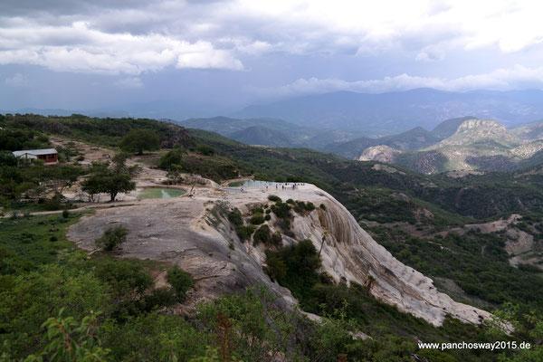 Mexiko_Oaxaca und Chiapas_Hierve el Agua