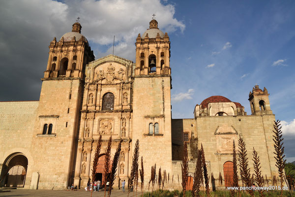 Mexiko_Oaxaca und Chiapas_Oaxaca_Inglesia Santo Domingo