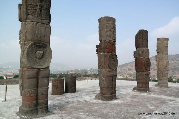 Mexiko_Mexiko-City und Umgebung_Tula_Die Atlanten von Tula