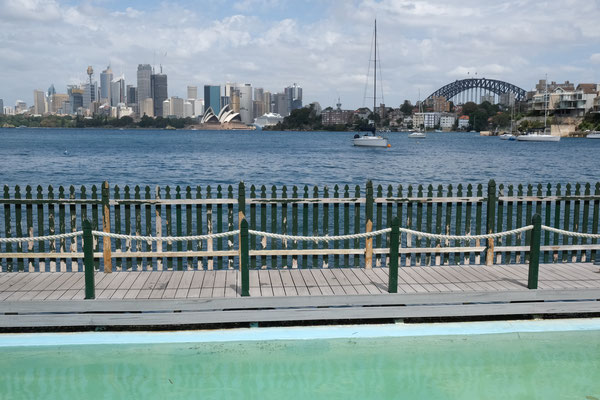 View vom Maccallum Pool