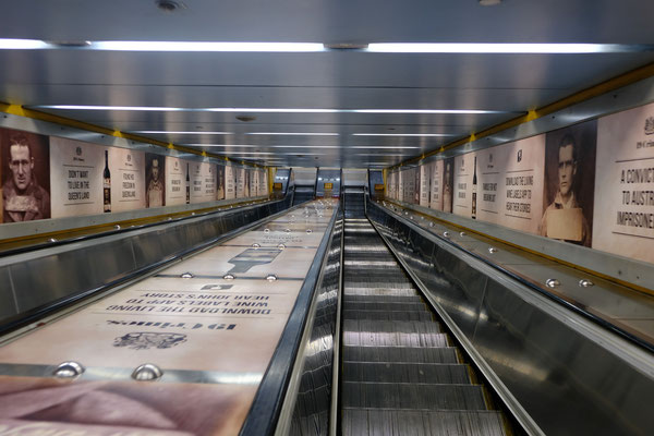 Bondi Junction Escalator, Sydney