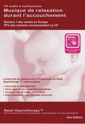 CD de musique de relaxation durant l'accouchement