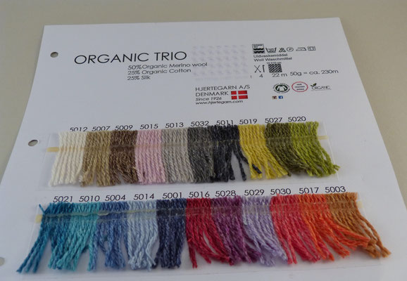 Hjertegarn Organic Trio