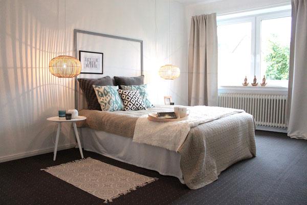 Home Staging - Schlafzimmer nachher Buchholz die kammerherrin