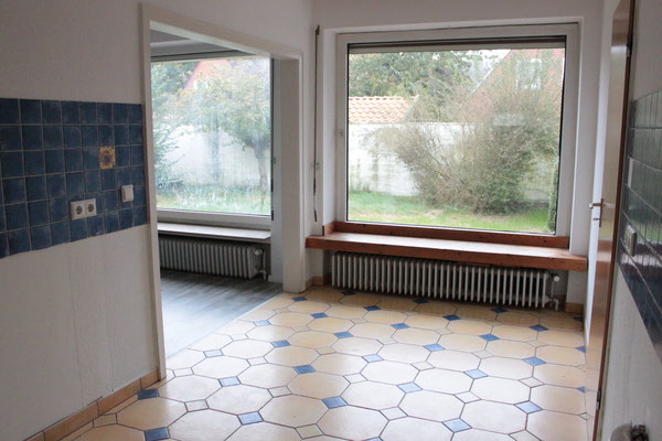 Home Staging vorher - Küche Fliesen Buchholz Tostedt die kammerherrin