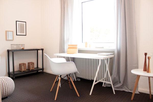 Home Staging - Arbeitszimmer nachher - Buchholz Tostedt die kammerherrin