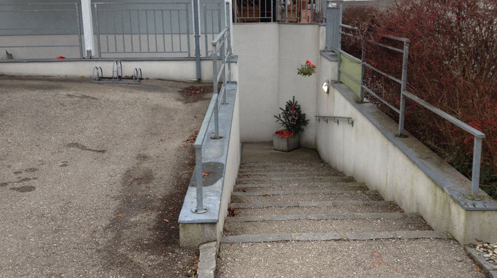 Stiegenabgang