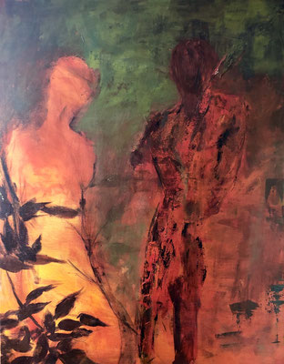 Abendrot / 80 x 100 cm / 2015