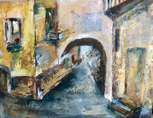 Canale Grande / 50 x 40 cm / 2019