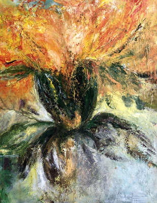 Blütenzauber / 40 x 50 / 2015