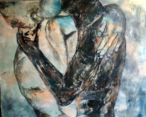 Liebende / 80 x 100 cm / 2016