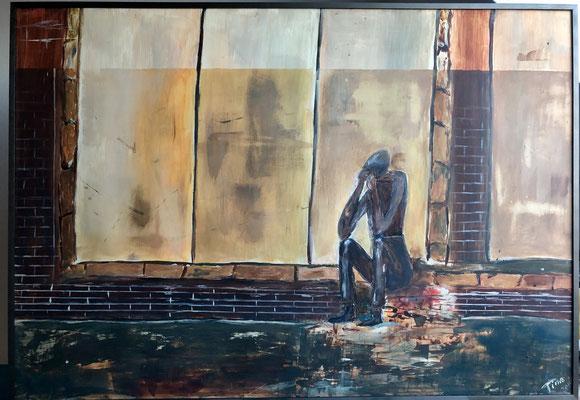 Melancholie / 70 x 100 cm / 2014