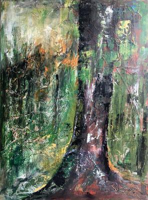 Wald 2 / 60 x 80 / 2015