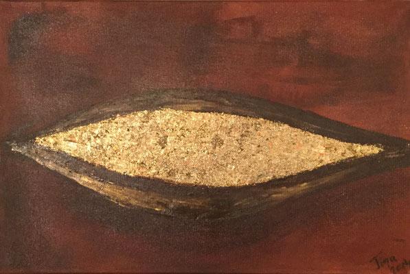 Goldschale / 60 x 40 cm / 2014
