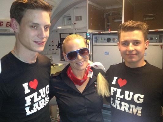 eingesendet von Kevin und Max - an Bord von Air Berlin