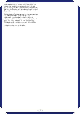 Allgemeine Geschäftsbedingungen - Seite 4