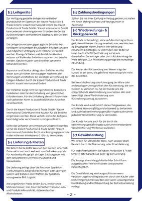 Allgemeine Geschäftsbedingungen - Seite 2