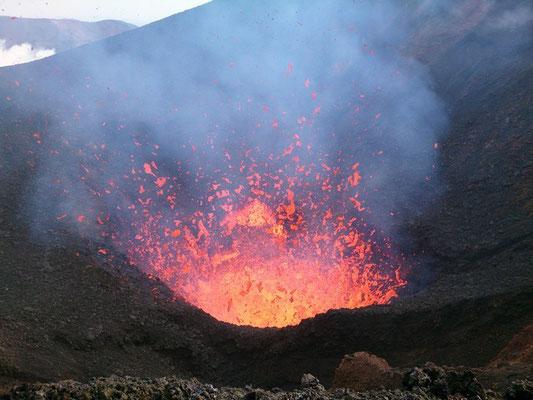 Извержение вулк. Толбачика.