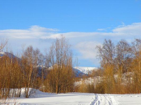 Быстринский район. Зима
