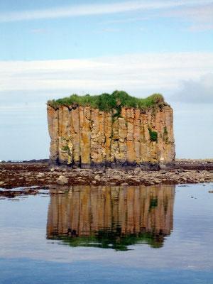 Остров Беринга. Орлов камень.
