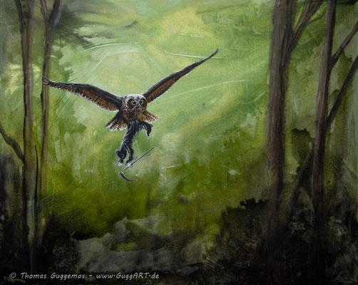 SUIZID - Acrylmalerei auf Leinwand 100x80cm (acrylics on canvas), 2013