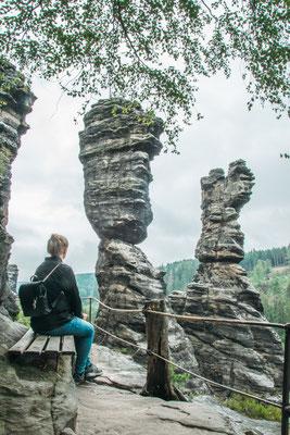 Herkulessäulen in der Sächsischen Schweiz