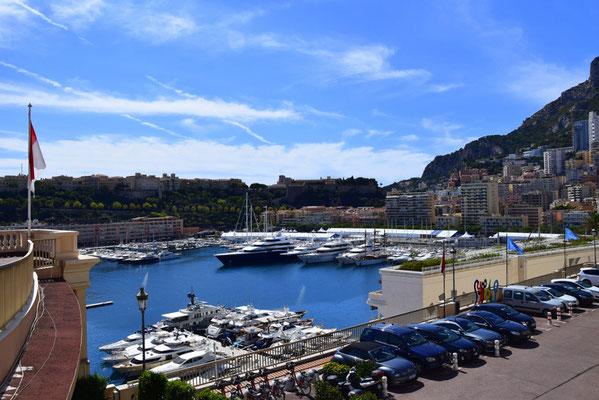 Yachthafen in Monaco