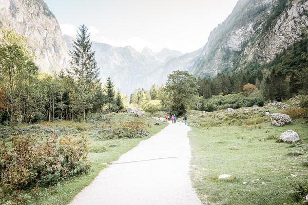 Wanderweg zum Obersee
