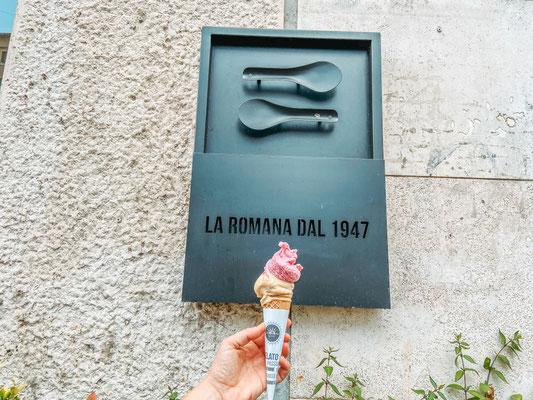 Eisdielen Tipp einer Einheimischen in Rom