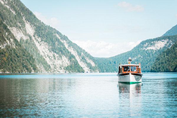 Eine Bootstour auf dem Königssee