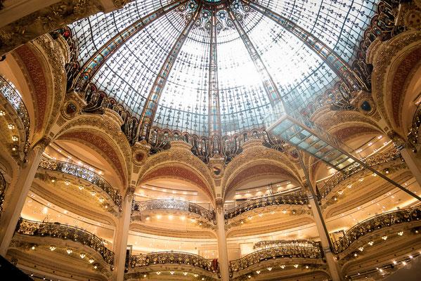Kaufhaus Lafayette, Paris, Beste Aussicht, Frankreich