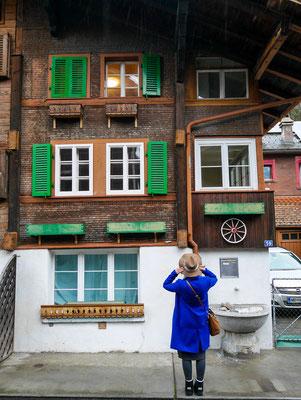Altstadt von Interlaken in der Schweiz