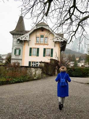 Schloss Spiez am Thunersee in der Schweiz